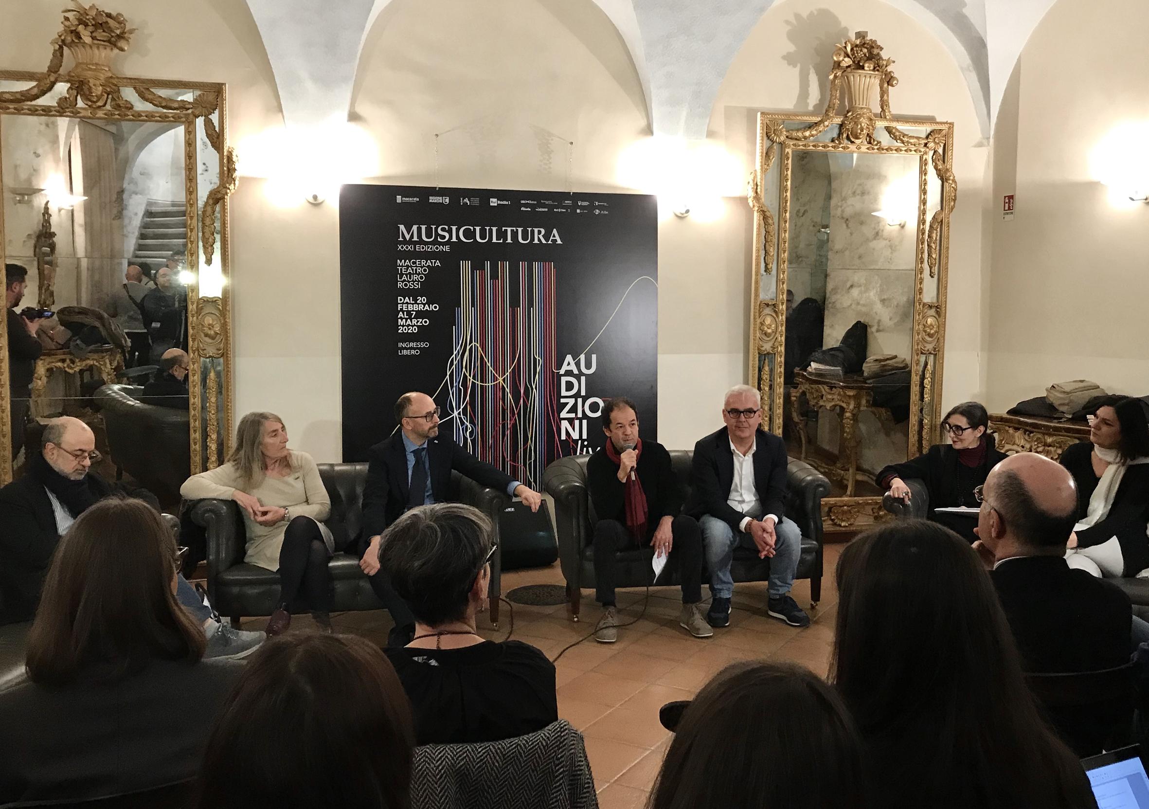 Le audizioni live di Musicultura al Teatro Lauro Rossi di Macerata