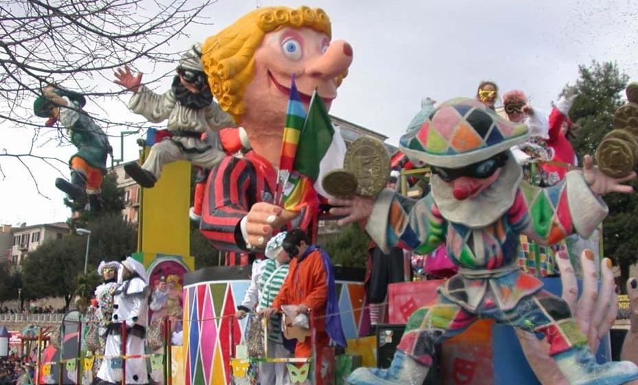 Carnevale Maceratese con Manuela Arcuri ai Giardini Diaz