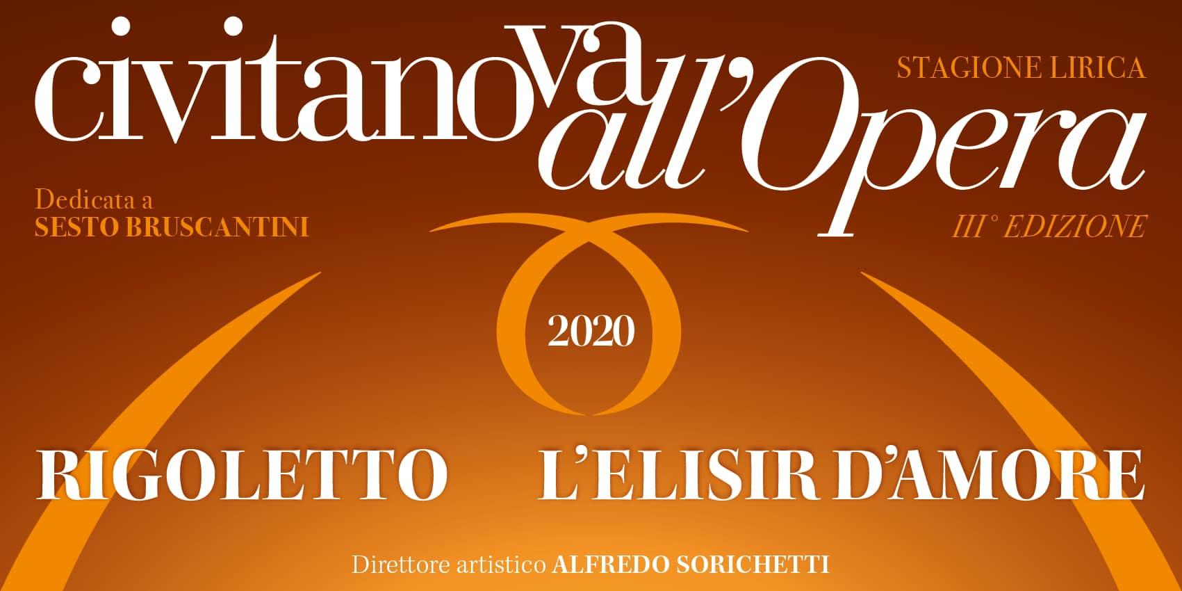 Civitanova all'Opera, in cartellone Rigoletto e L'elisir d'amore