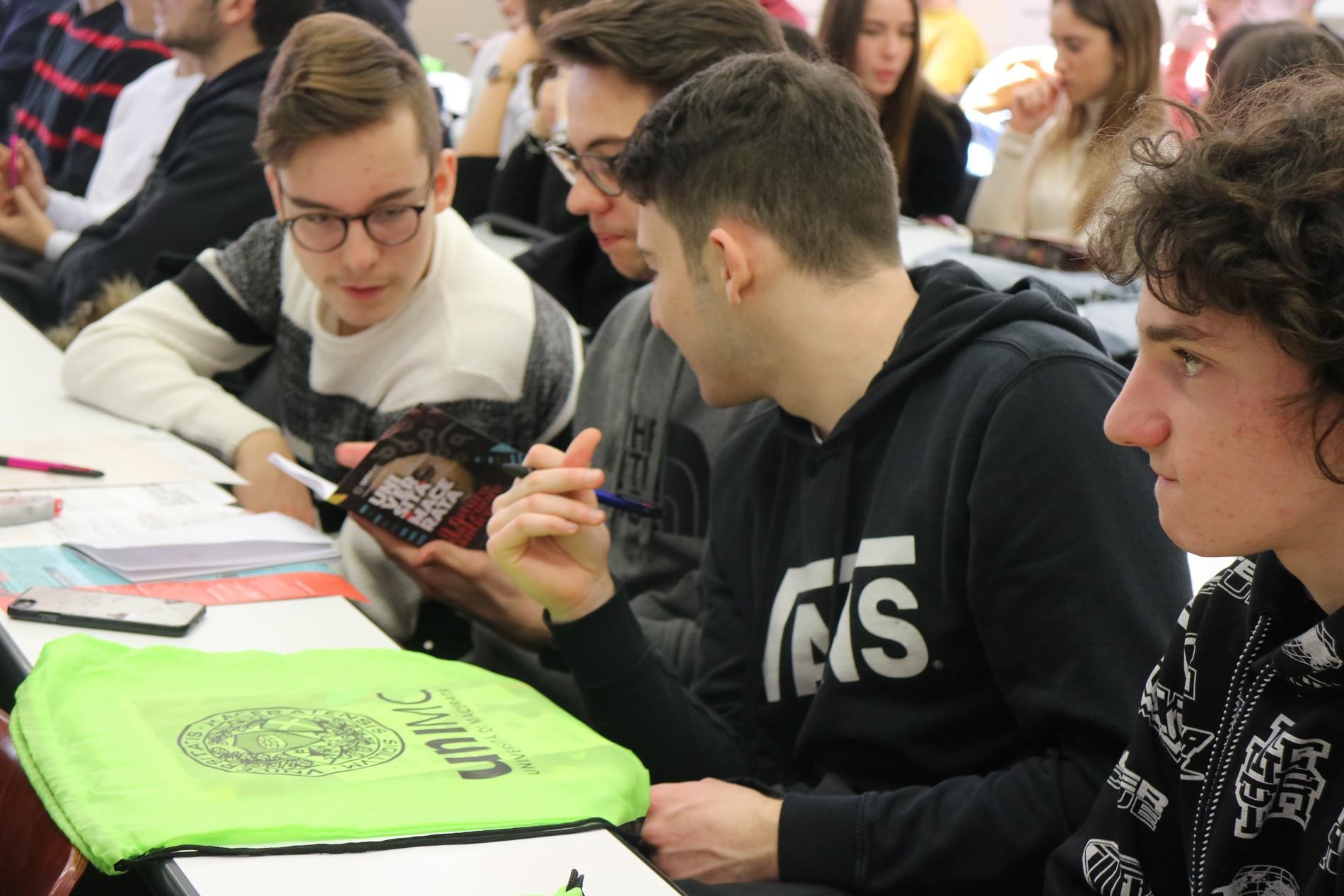 Open Week per studenti delle superiori all'Università di Macerata