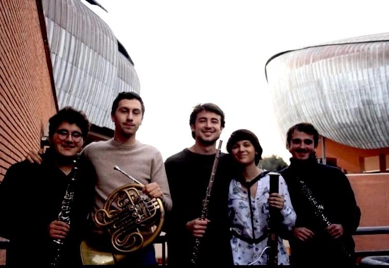 Gioventù Musicale, concerto a Camerino del Quintetto Eismos