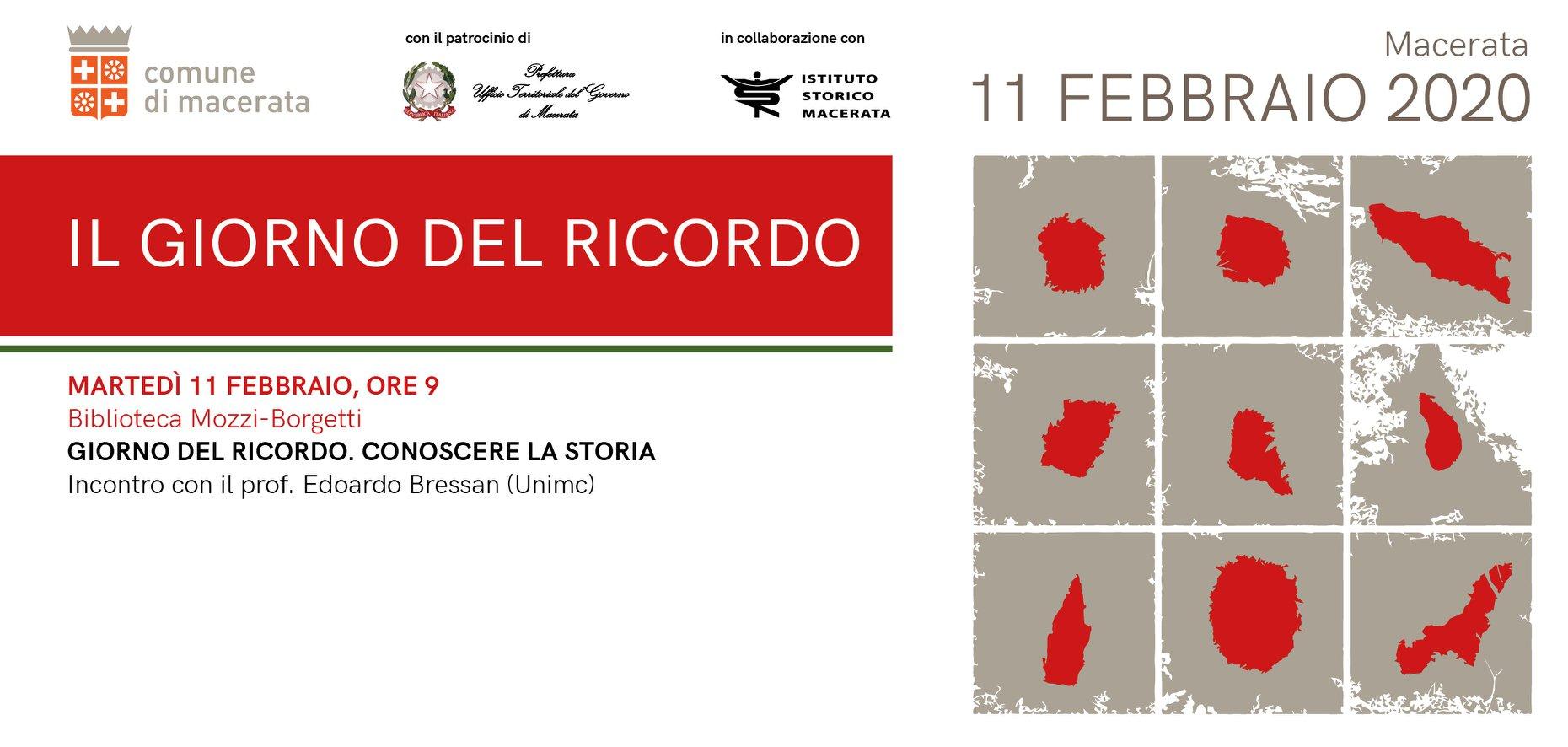 Giorno del Ricordo, a Macerata incontro con gli studenti