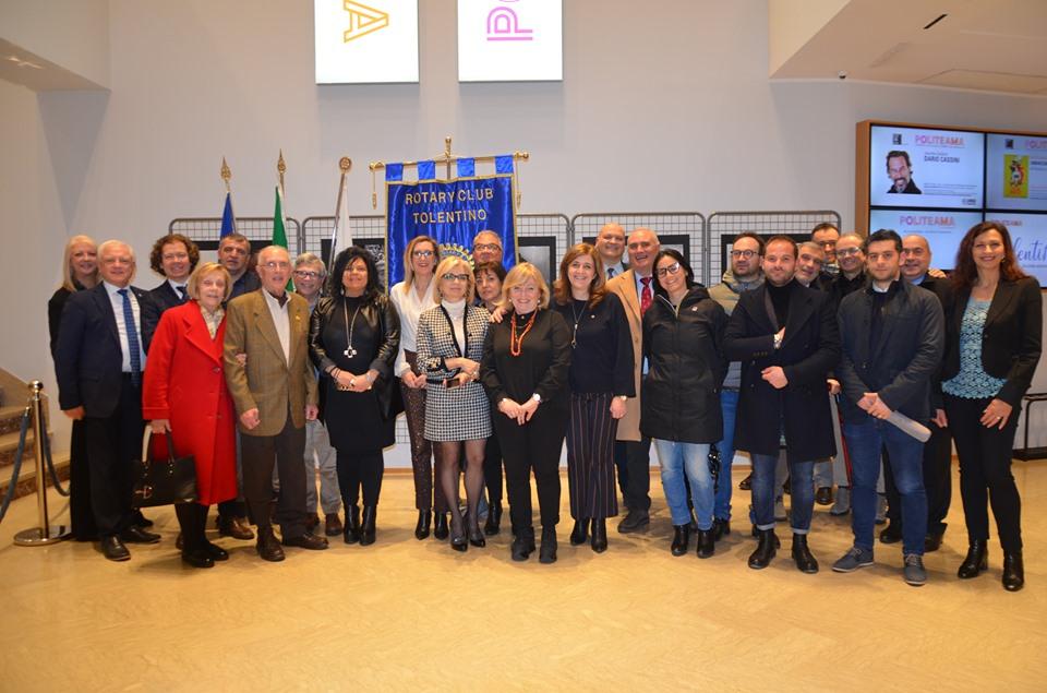 """Rotary Club Tolentino, incontro su """"Memoria e ricordi"""""""