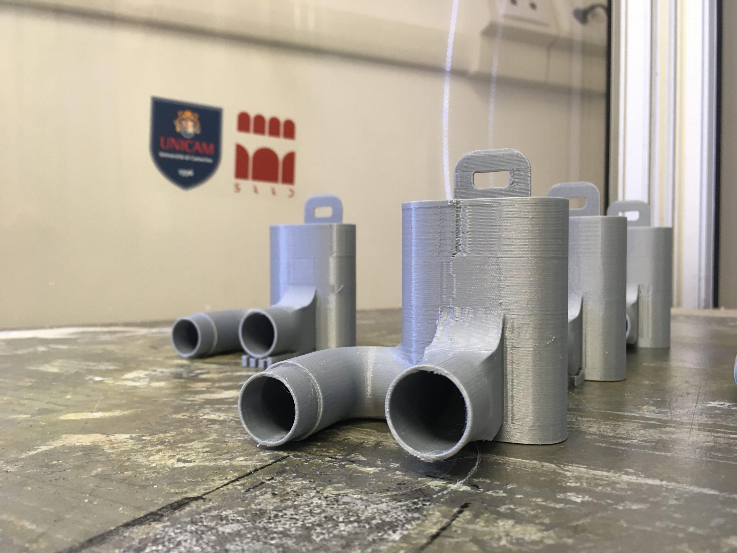 Unicam, valvole per respiratori realizzate con stampanti 3D