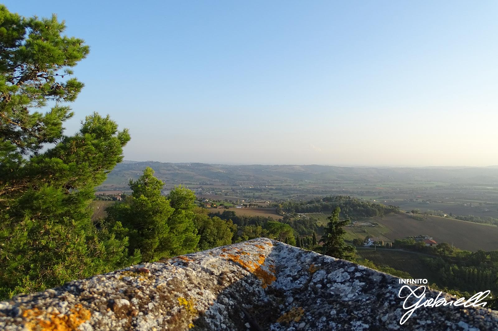 Infinito Gabrielli, visita virtuale al panorama del colle leopardiano