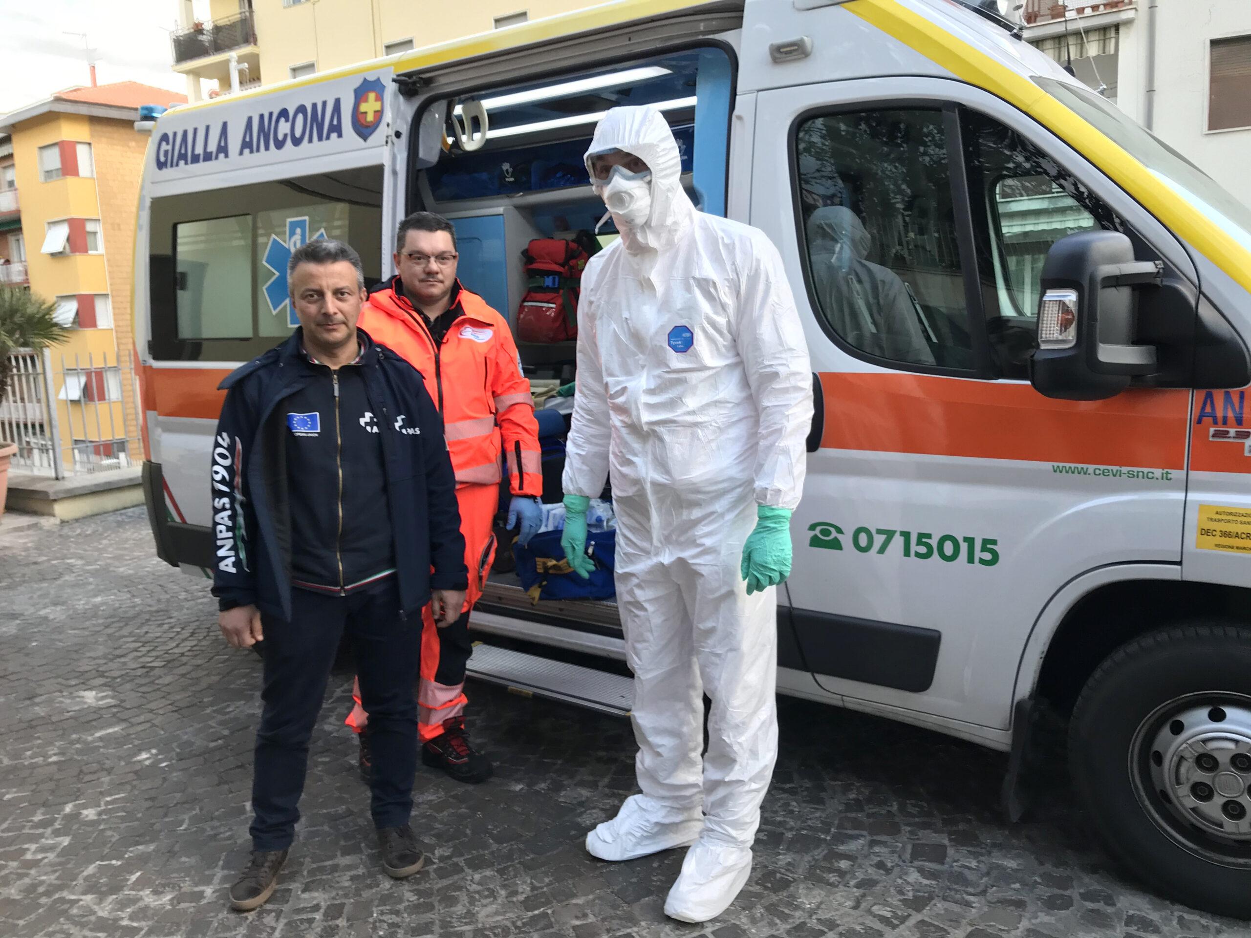 Gruppo Gabrielli, attrezzature per ANPAS e Croce Rossa Marche
