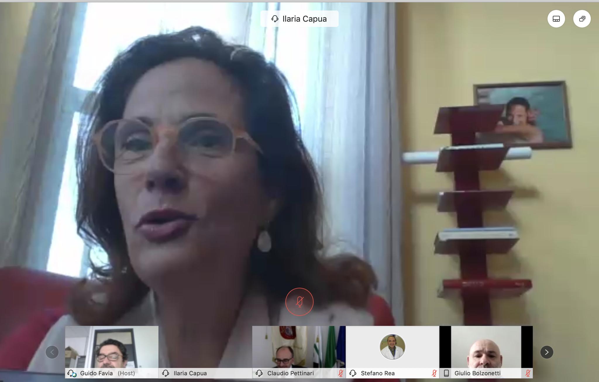 Unicam, incontro virtuale con la virologa Ilaria Capua