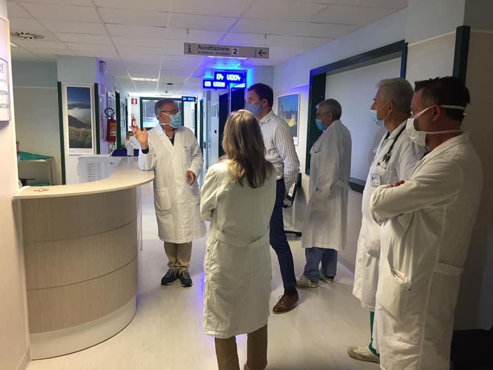 Ospedale di Civitanova Marche, da martedì tutto operativo