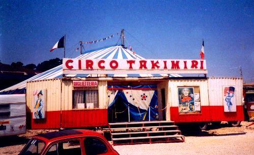 Circo Takimiri, spettacolo in piazza a San Severino Marche