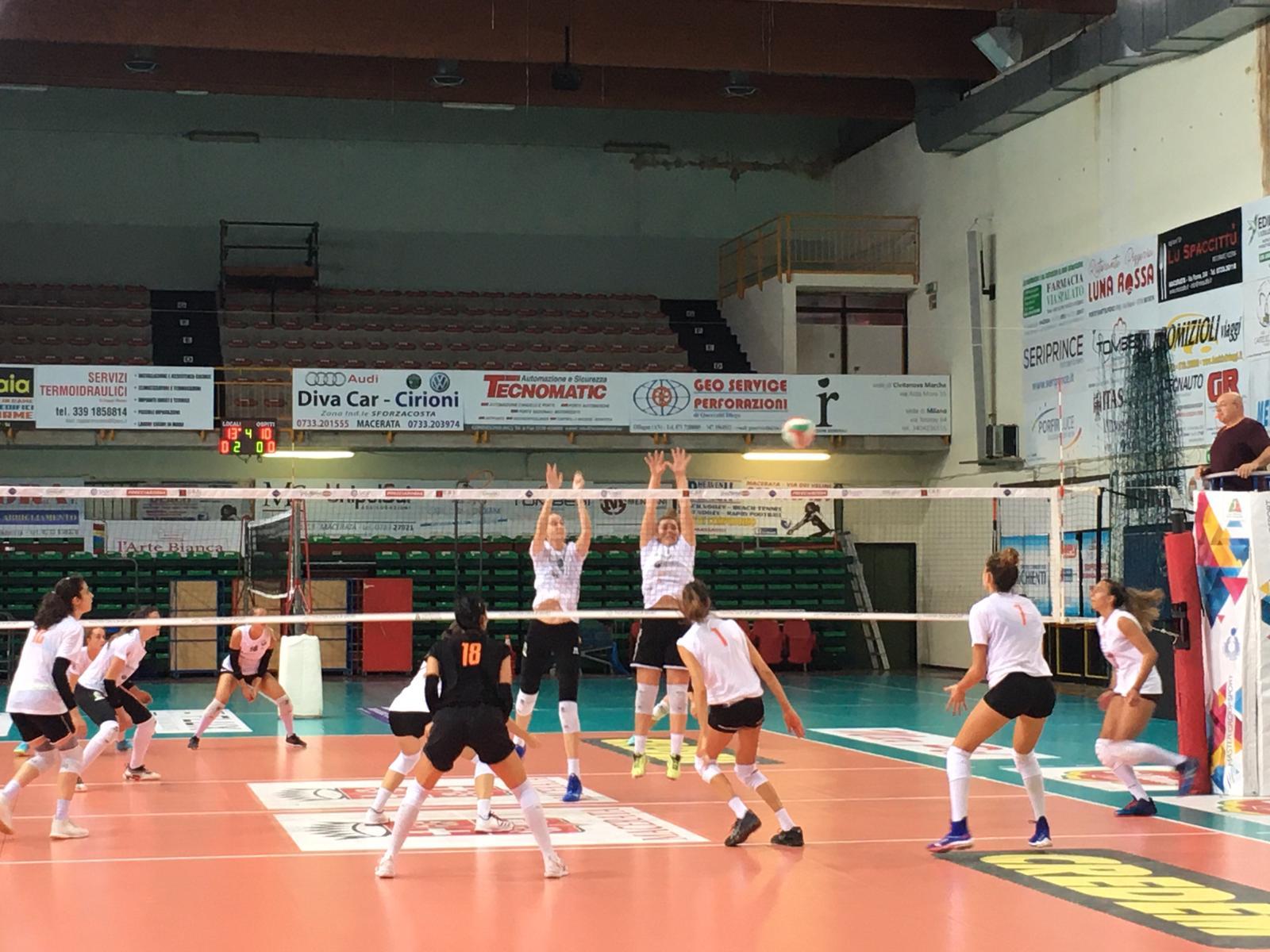 CBF Balducci HR Volley, prima di A2 con pubblico (200 persone)