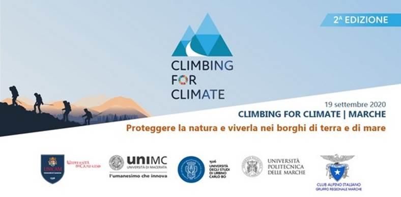 Climbing for Climate, sui Sibillini con le Università marchigiane