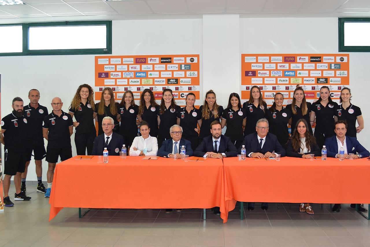 CBF Balducci HR Macerata, presentata la squadra per la A2