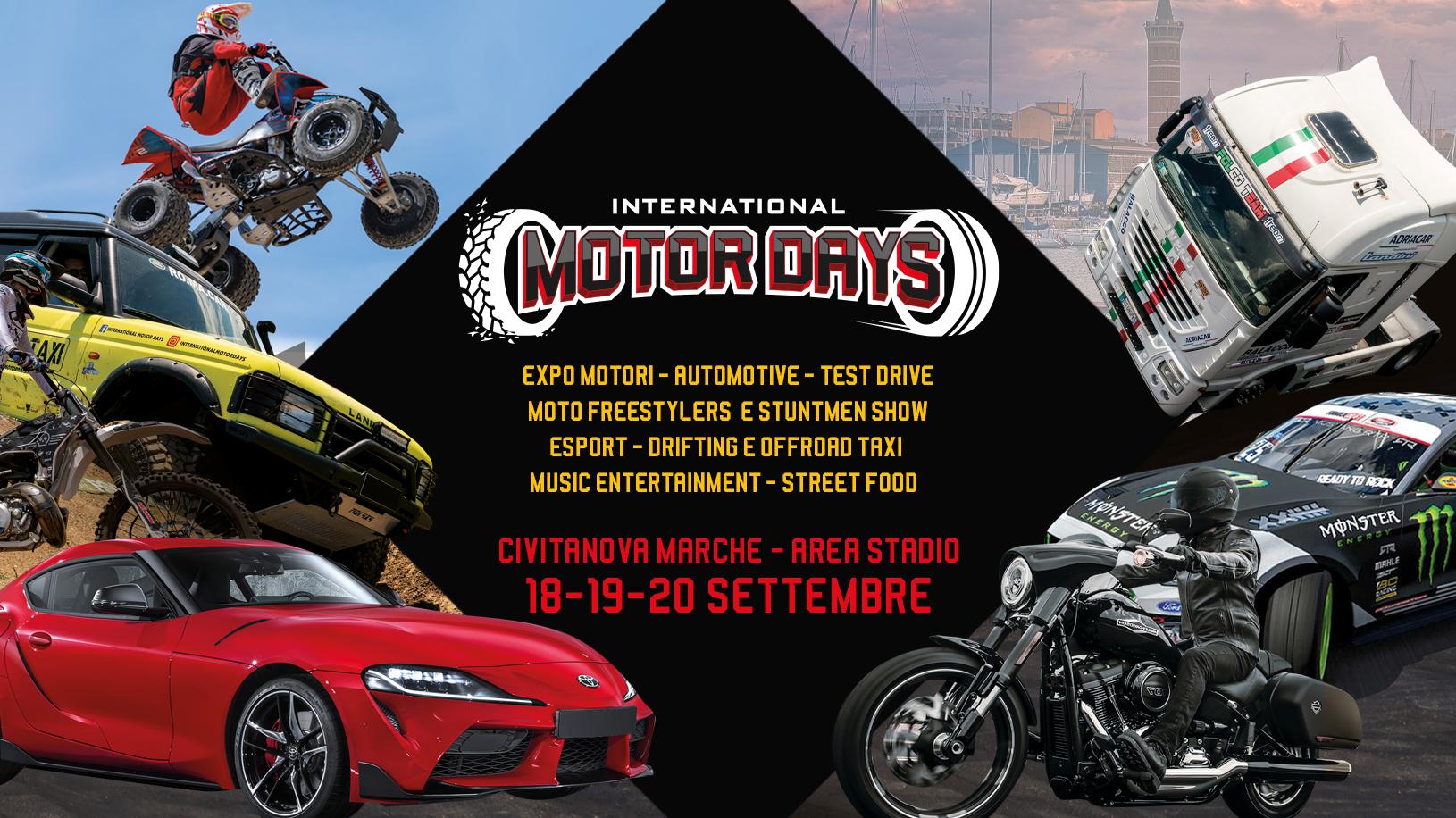 International Motor Days, expo ed eventi a Civitanova Marche
