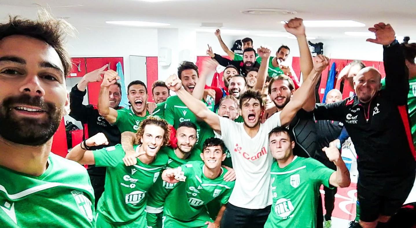 Matelica, esordio storico in serie C con vittoria a Trieste