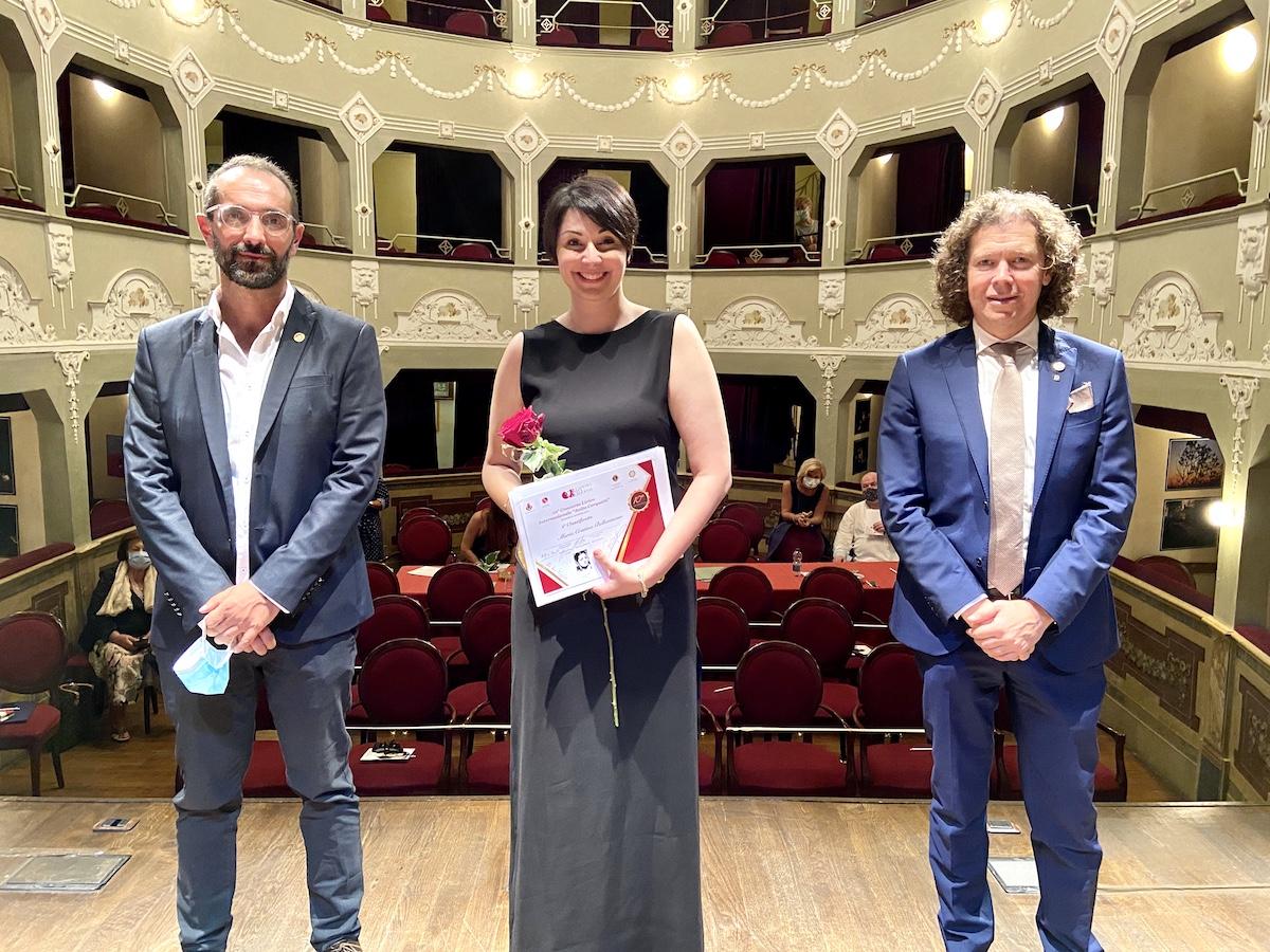 Montecosaro, Maria Cristina Bellantuono vince il Concorso Lirico