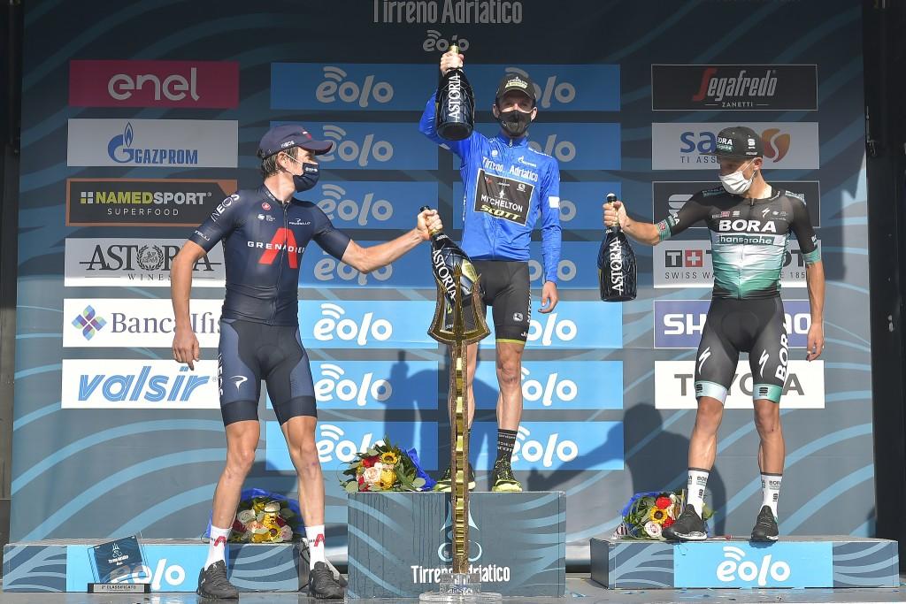 Tirreno-Adriatico a Simon Yates, Filippo Ganna vince la crono