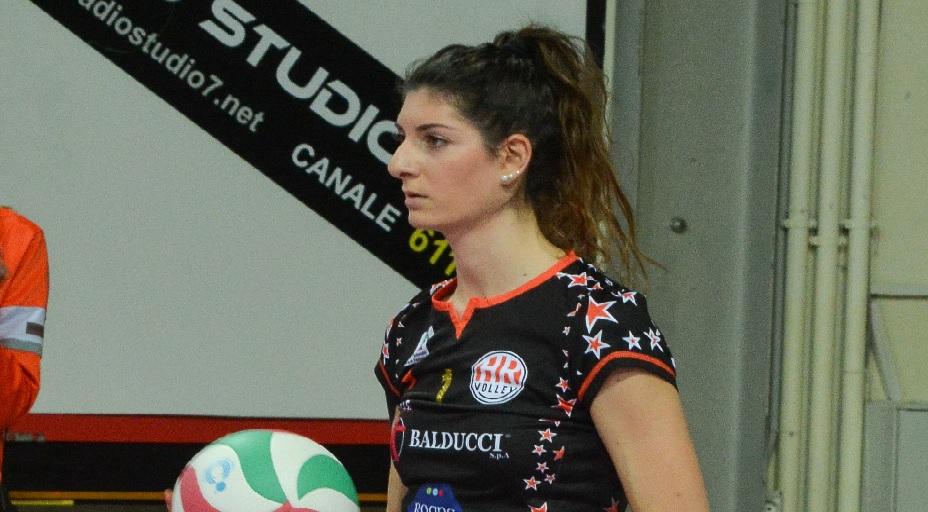 Valentina Pomili, lo sport e la CBF Balducci HR Macerata