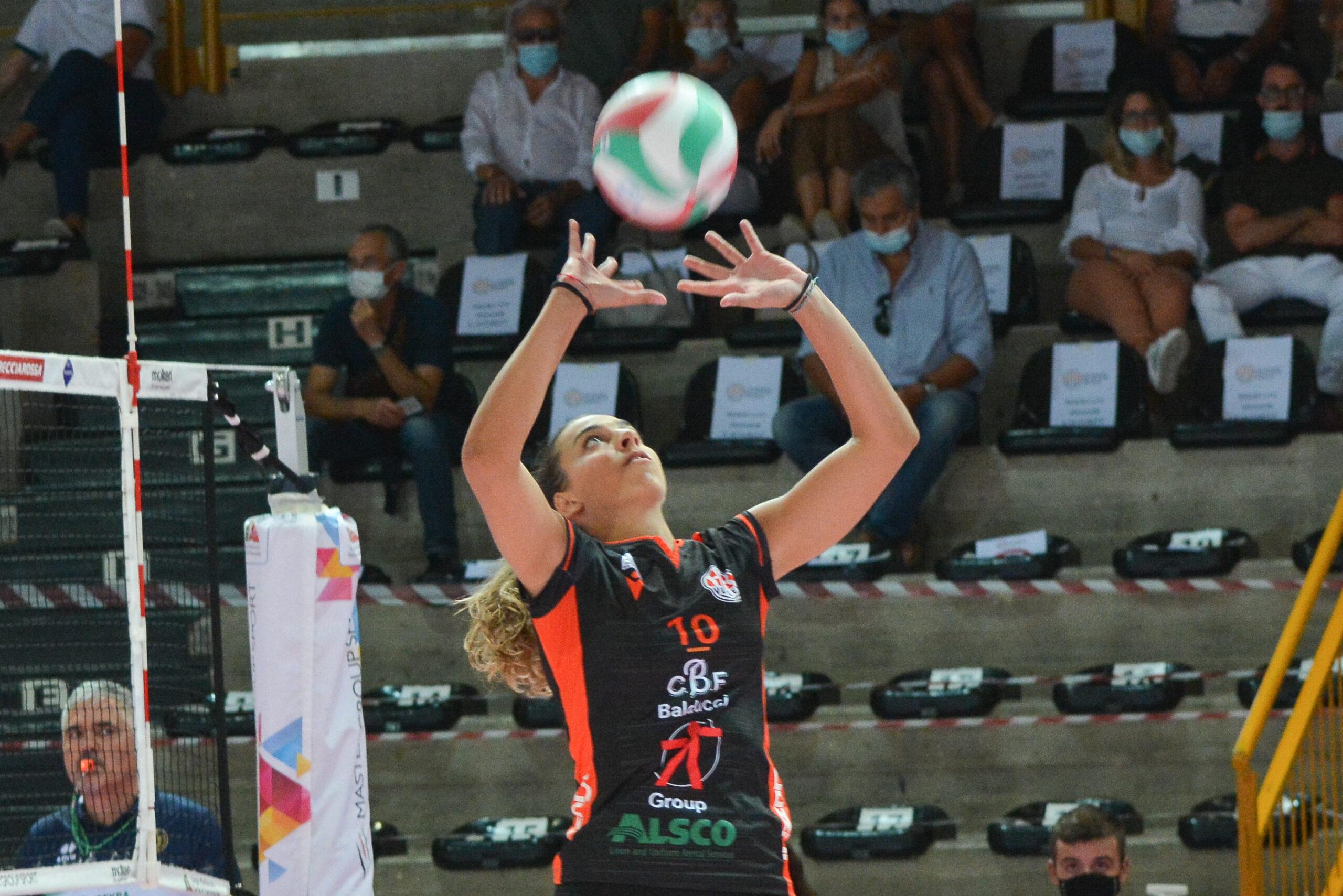 CBF Balducci HR Macerata, Ilenia Peretti carica la squadra