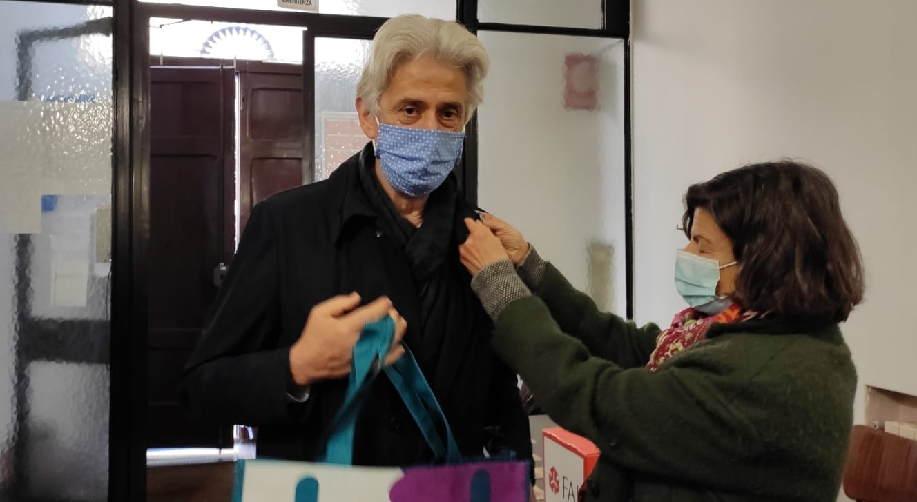 Macerata, il sindaco Parcaroli visita le Giornate FAI d'Autunno