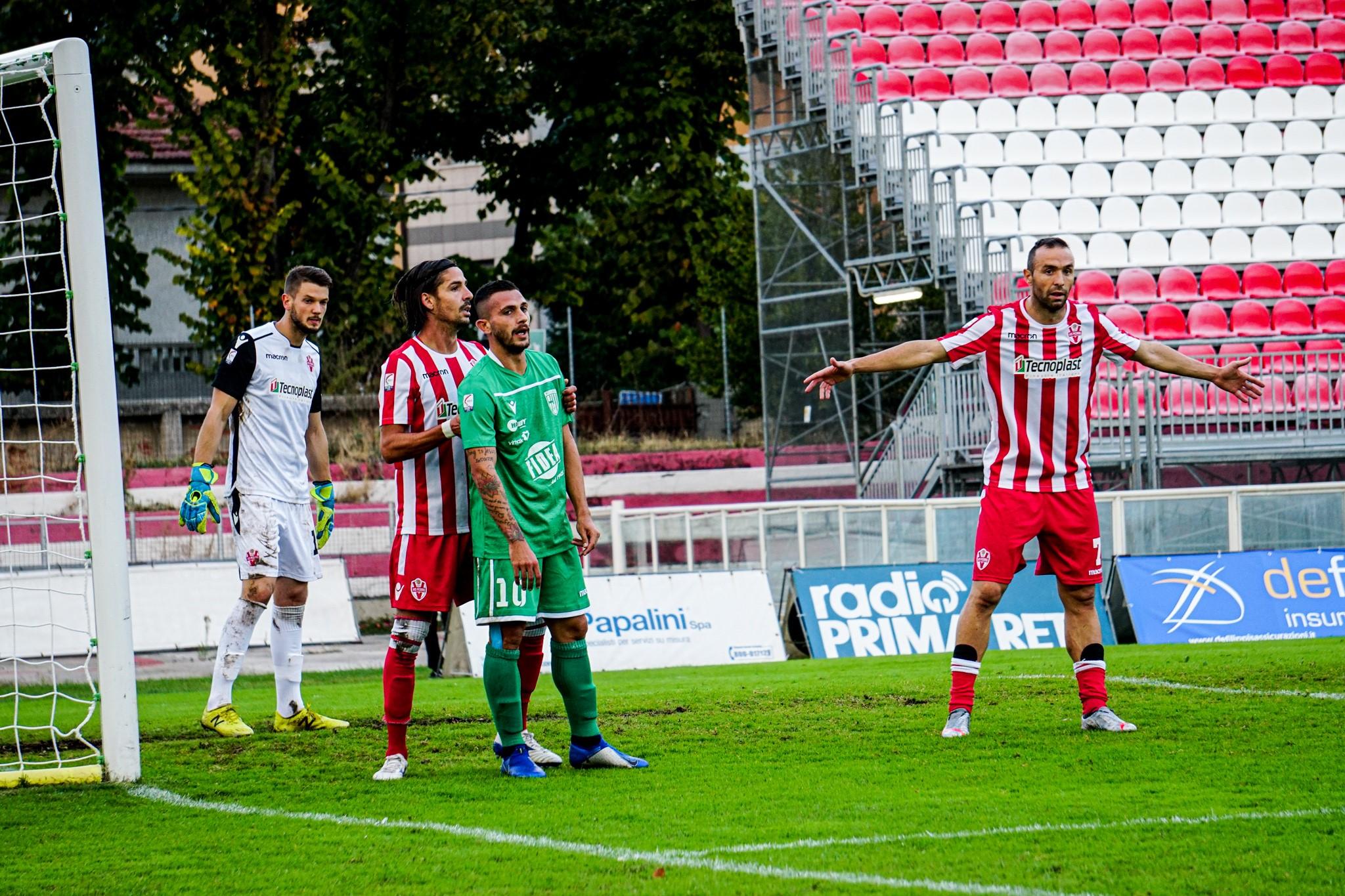 Matelica perde a Pesaro, la Vis vince 2-1 la sfida del derby