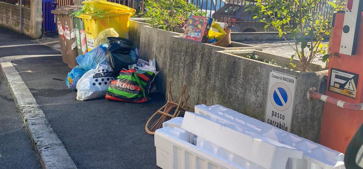 Macerata, tolleranza zero per chi abbandona rifiuti