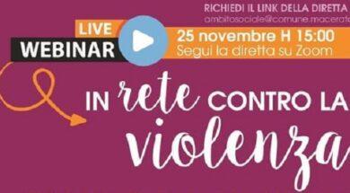 in rete contro la violenza