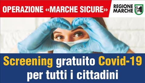 """Screening """"Marche Sicure"""" al Lanciano Forum fino a martedì 26"""