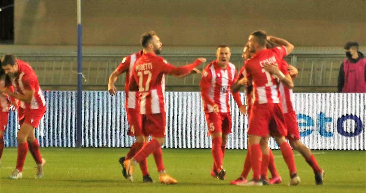 Il Matelica vince 3-2 il derby con la Samb al Riviera delle Palme
