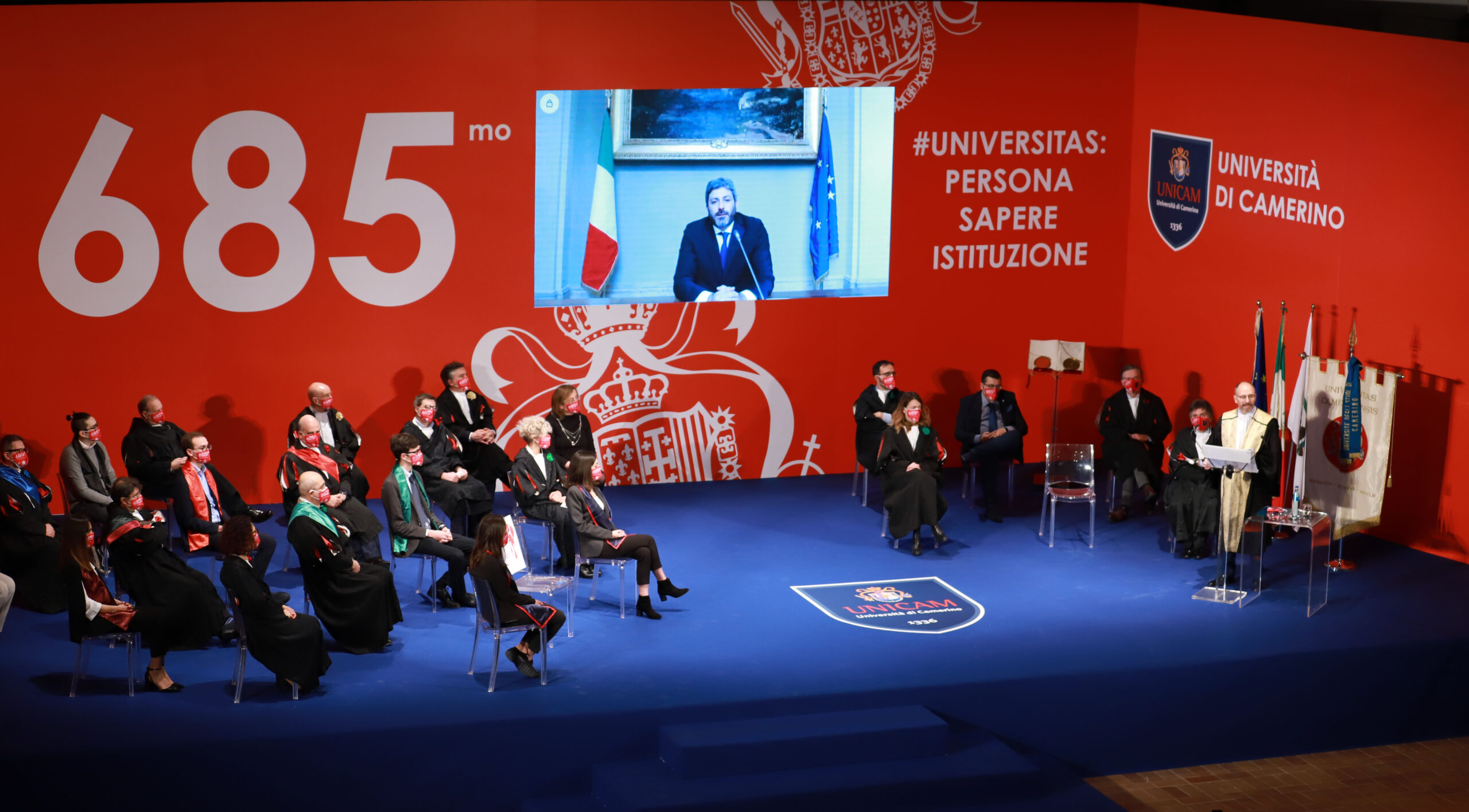Università di Camerino, inaugurato il 685° Anno Accademico