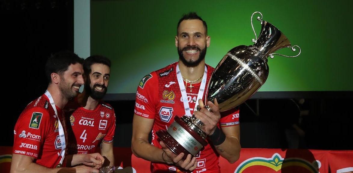 La Lube vince la Coppa Italia, 3-1 alla Sir Safety Perugia