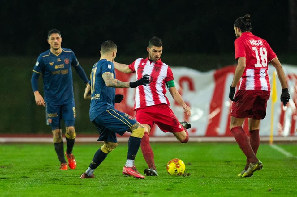 Matelica-Perugia 1-3, bella prova ma umbri troppo forti