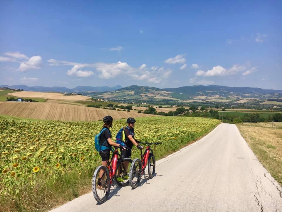 San Severino Marche, in bicicletta per rilanciare il turismo