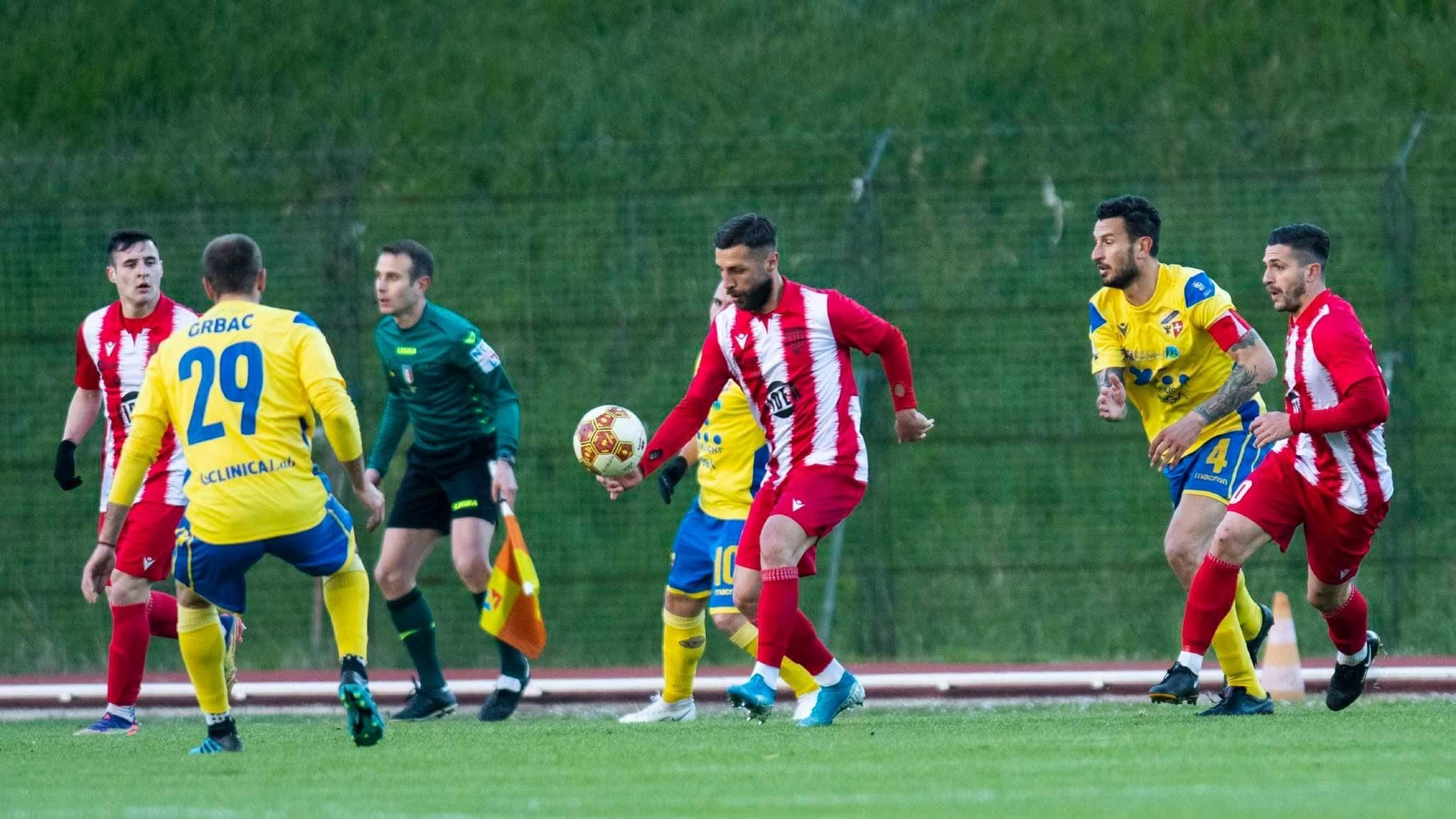 Matelica-Fermana 5-1. In gol Leonetti (2), Moretti e Volpicelli (2)
