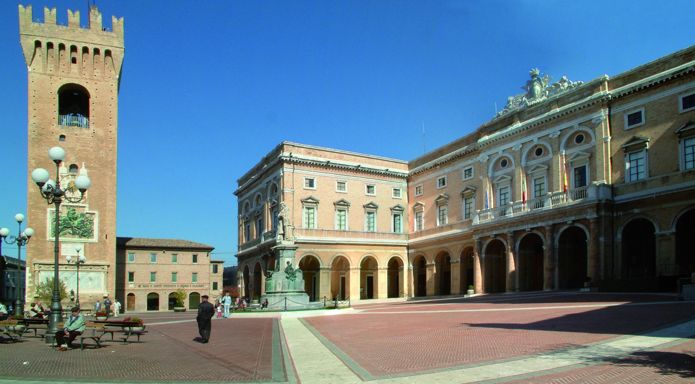 Recanati, scelta giuria del concorso di idee per il centro storico