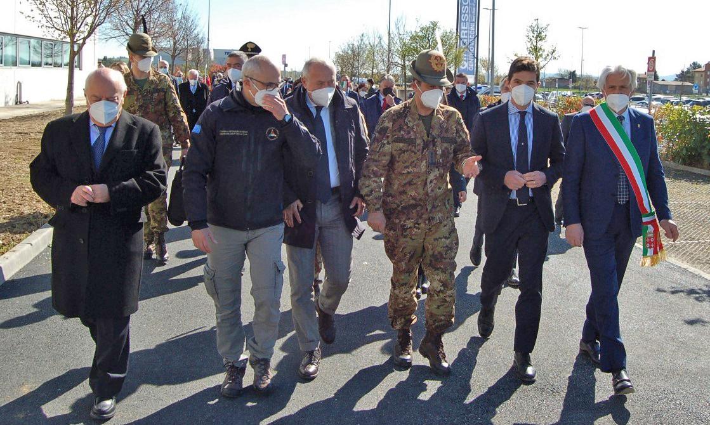 Marche, il Generale Figliuolo e Curcio a Macerata e Ancona