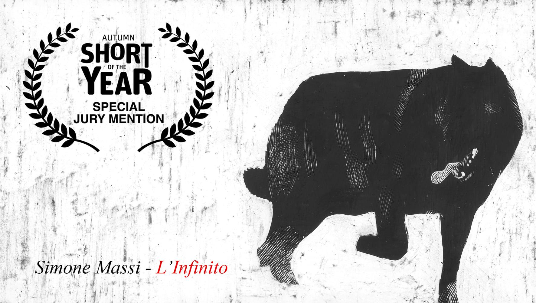 L'Infinito, la videopoesia di Simone Massi viaggia nei festival