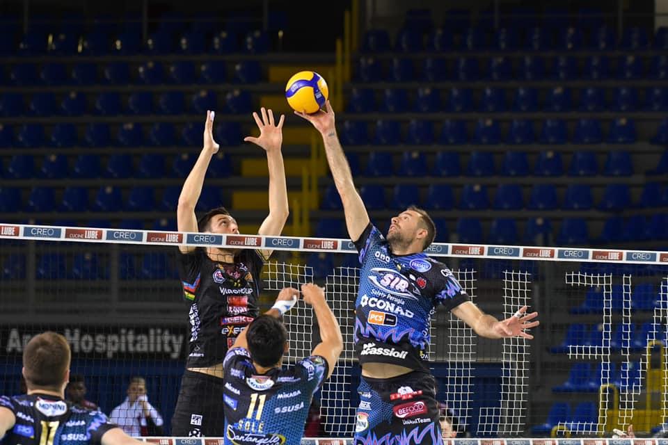 Lube ko in Gara 2 di Finale Play Off, Perugia vince al tie break