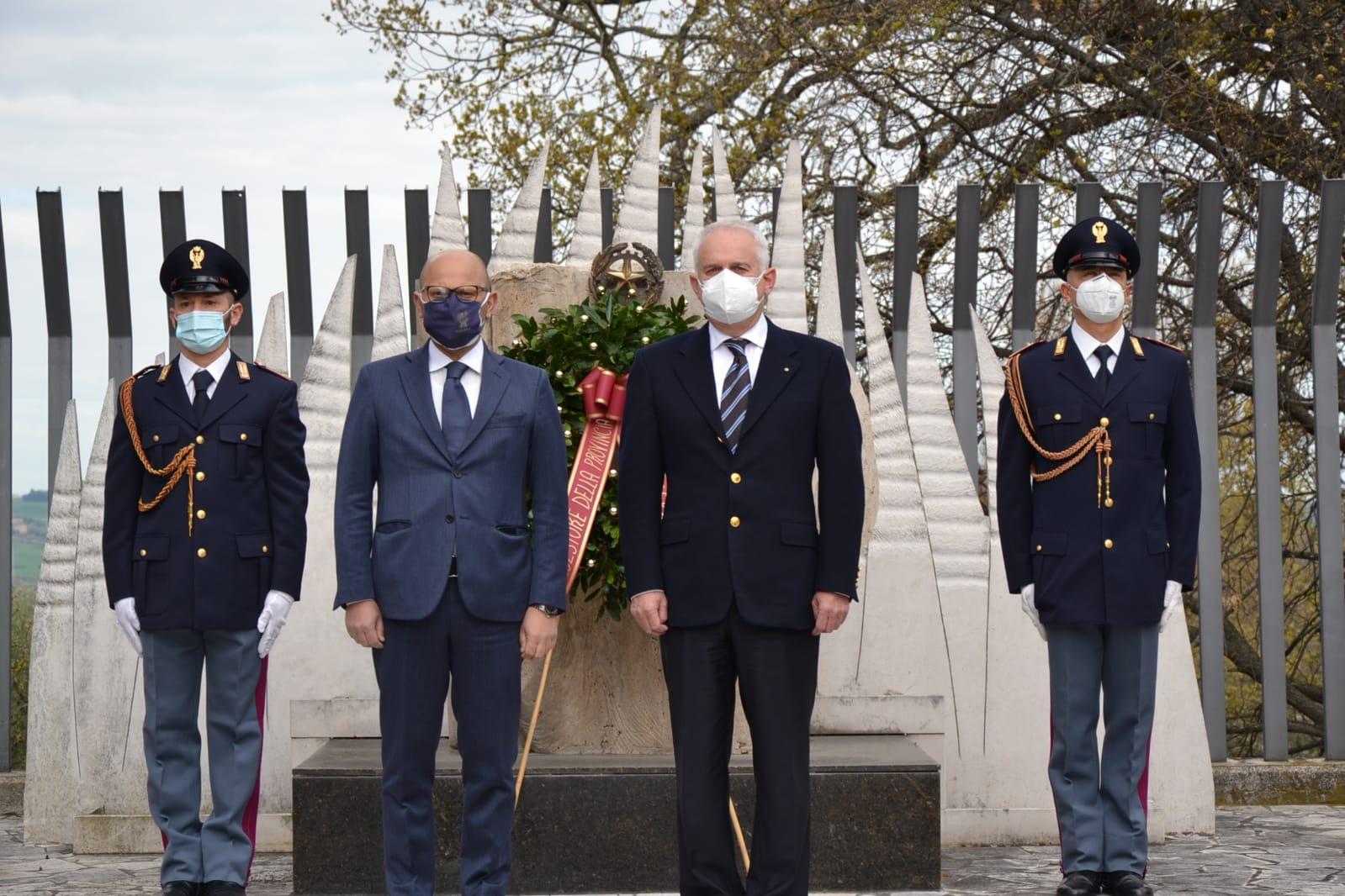 Macerata, 169° Anniversario fondazione della Polizia di Stato