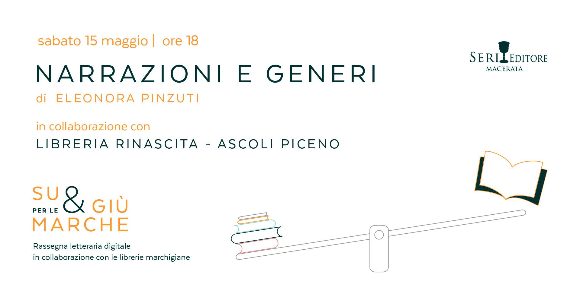 Seri Editore presenta Narrazioni e Generi di Eleonora Pinzuti