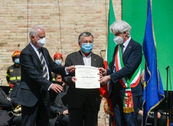 Carlo Iacomucci nominato Commendatore della Repubblica