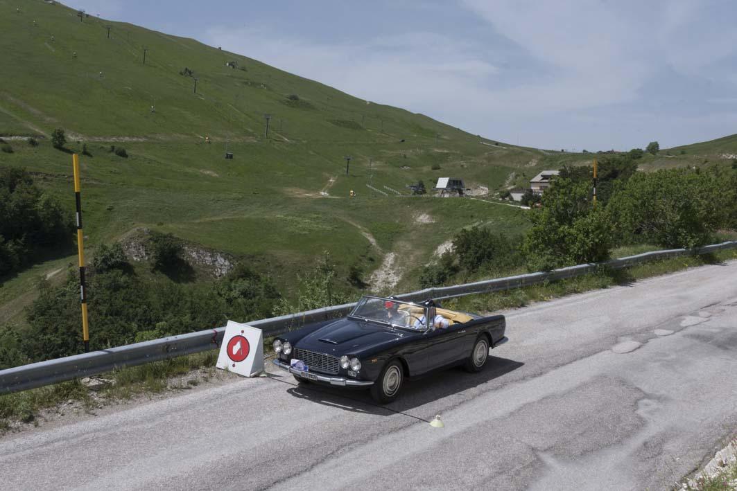 A Sarnano la 25a edizione del Trofeo Scarfiotti per auto d'epoca