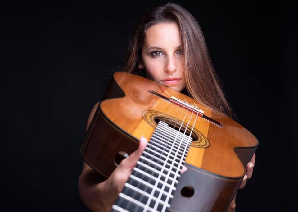 Cingoli, concerto della talentuosa chitarrista Carlotta Dalia