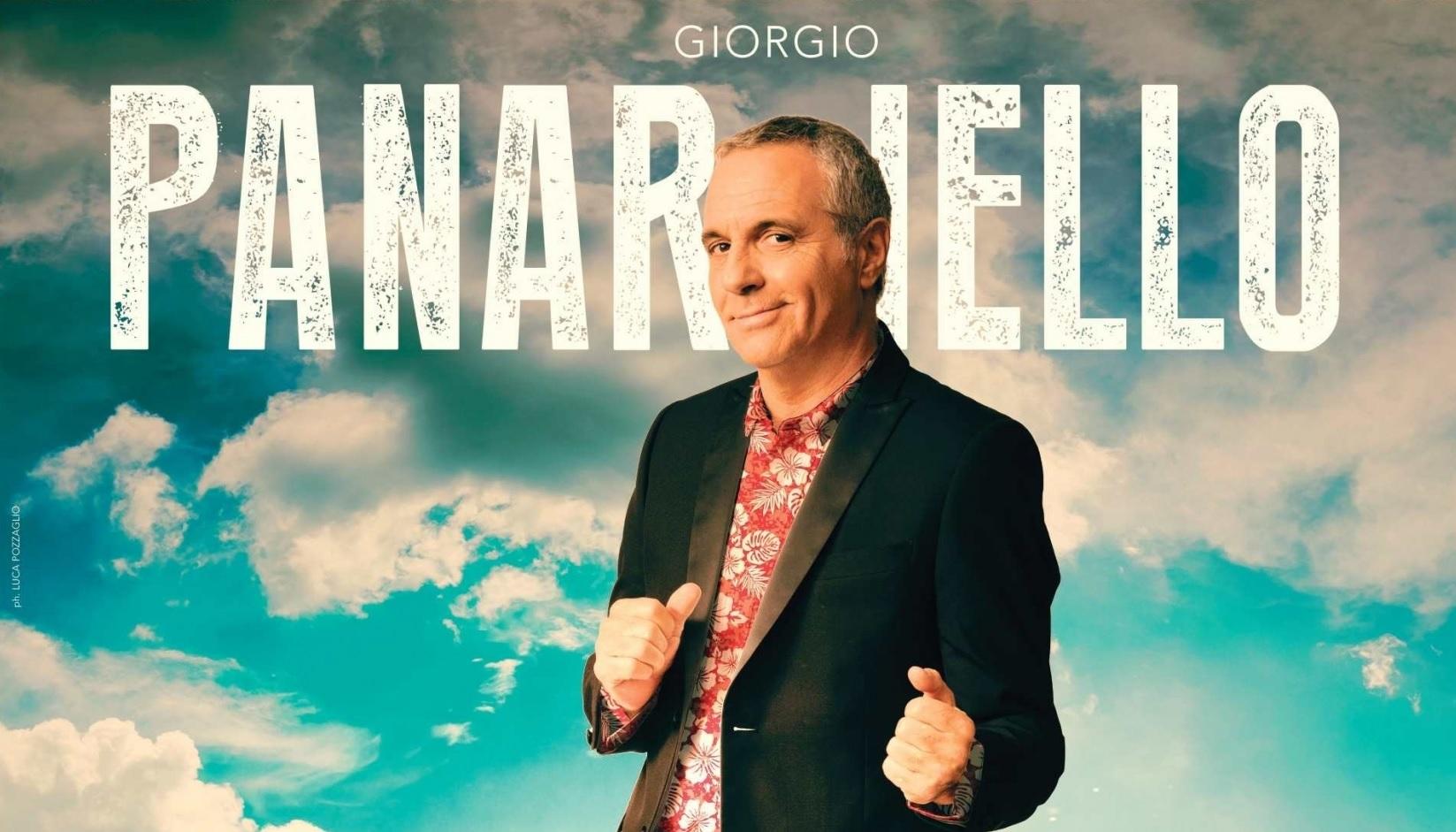 Giorgio Panariello a San Severino Marche, spettacolo l'1 agosto