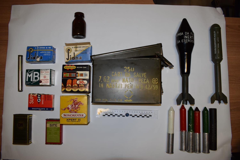 Macerata, a Sforzacosta trovate munizioni lungo il fiume Chienti