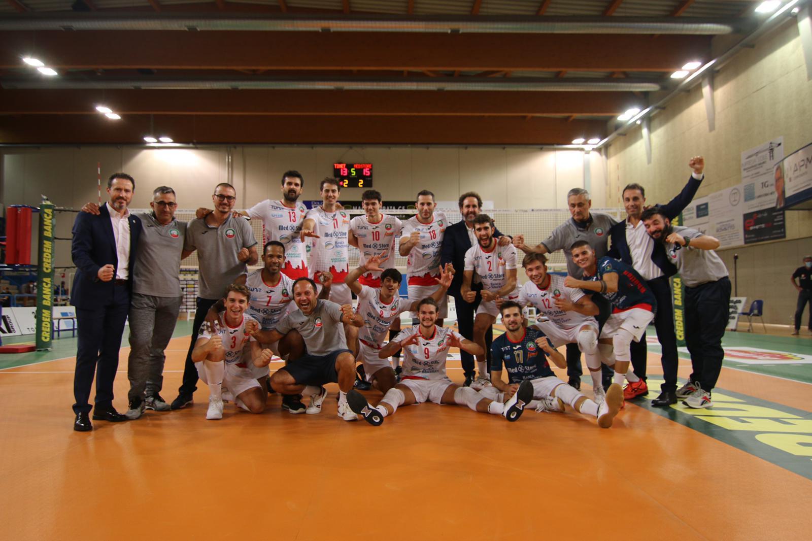 Med Store Tunit Macerata, a Pordenone vince al tie-break