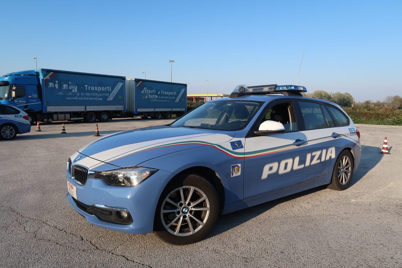 Polizia Stradale di Macerata, nove mesi di attività e risultati
